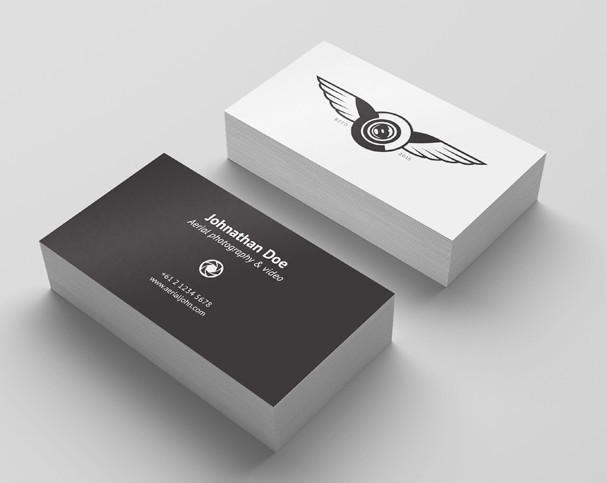 4 Free Business Card Mockup