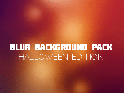 Free Blurred Background - Halloween Edition
