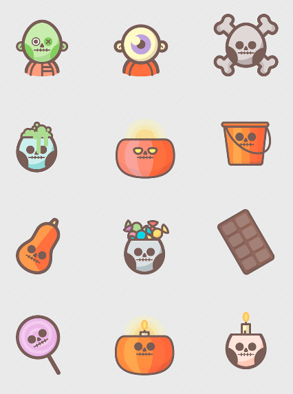 free-halloween-icons-pack