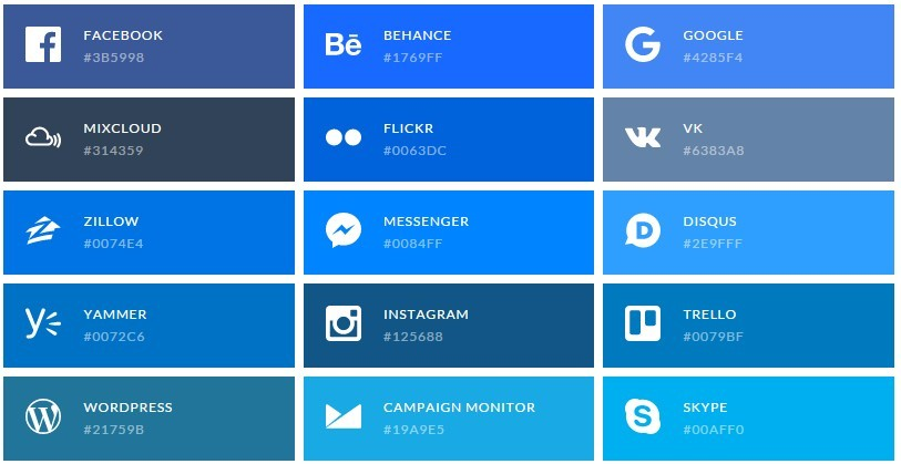 124+ SVG Icons For Popular Brands - 365 Web Resources