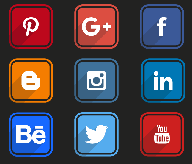 Free Social Media Icon Pack