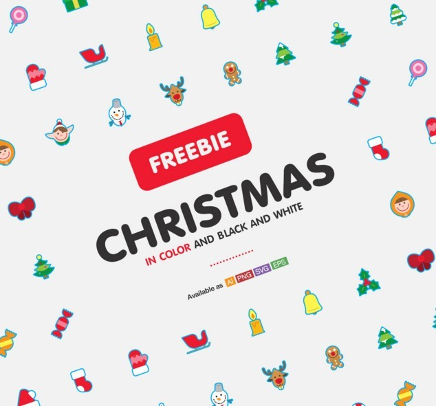 Freebie Christmas icons