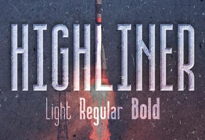 Highliner free font