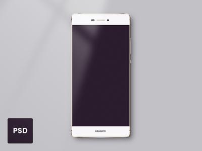 Huawei P8 Template