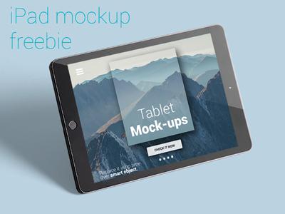 iPad photo-mockup