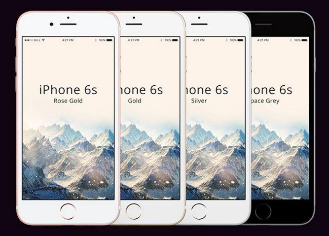 iPhone 6S FREE psd mockup