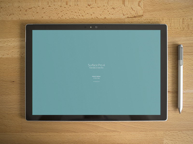 Brand New Surface Pro 4 Mockup PSD