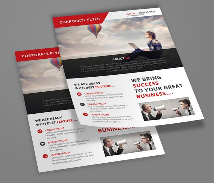 Free - Corporate Flyer Template