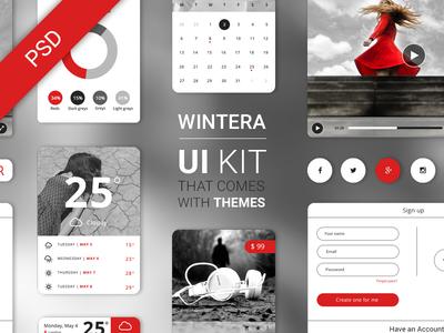 Free UI Starter Kit – Wintera