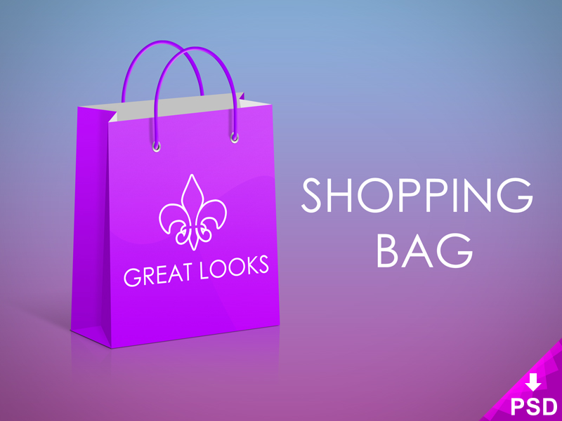 Great Looks Shopping Bag Mock-up