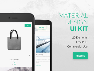 Google Material Design UI Kit