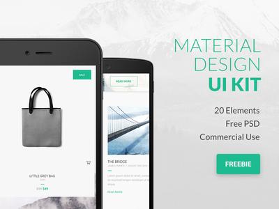 Google Material Design UI Kit