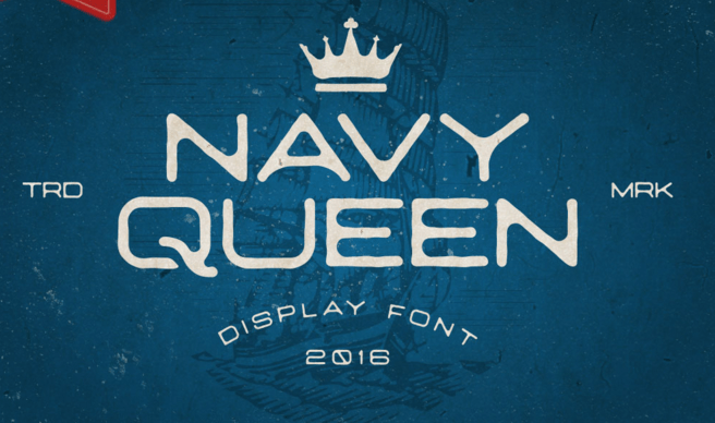NavyQueen FREE Font