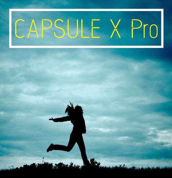 Capsule X Pro Typeface