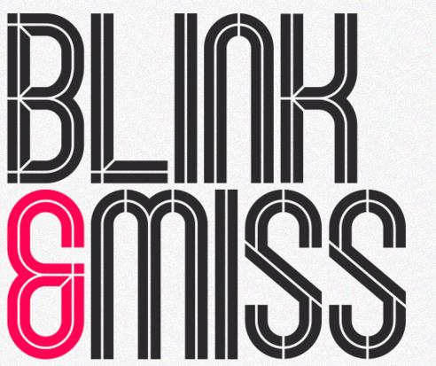 Blink - Display Font
