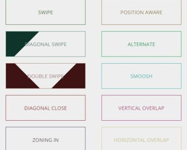CSS CSS3 Powered Button Hover Effects