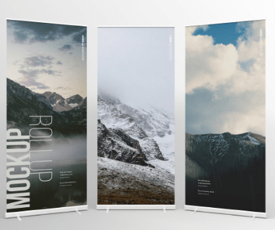 7+ Free Rollup Banner Mockups