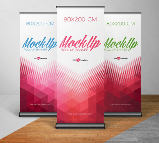 FREE ROLL-UP BANNER IN PSD