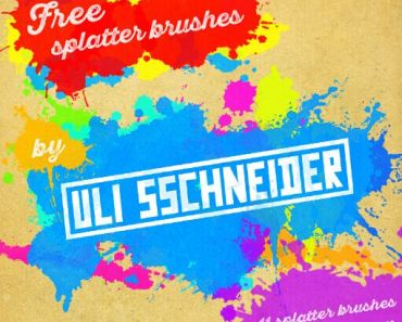 Free splatter brushes for photoshop