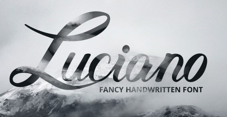 Luciano (Free Font)