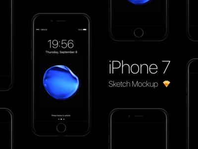 free-iphone-7-jet-black-sketch-mockup