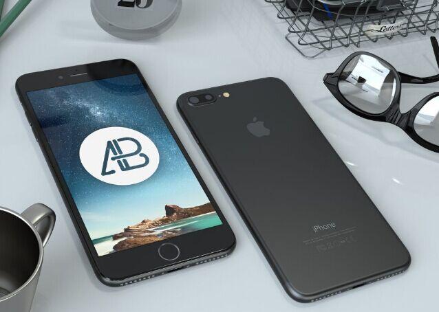 realistic-black-iphone-7-plus-mockup