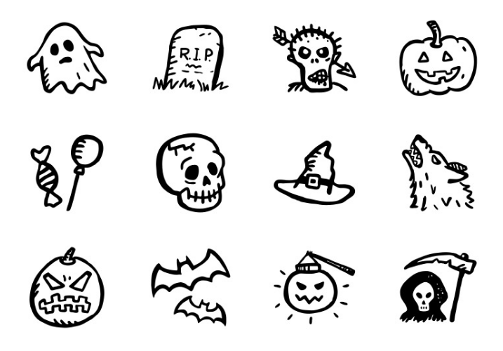 free-spooky-halloween-icons-psd