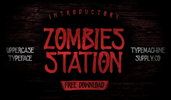 zombies-station-font