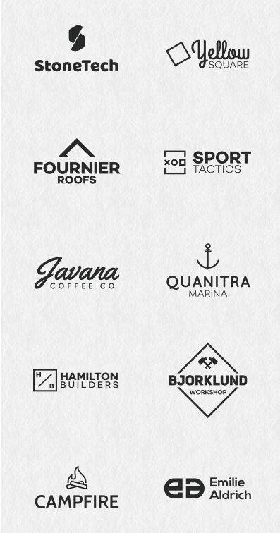 10-free-minimal-logos