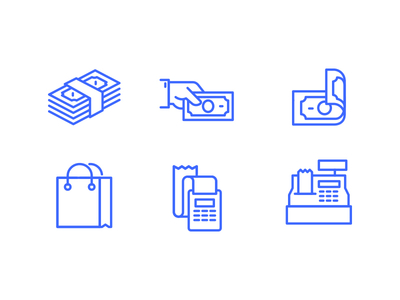 cash-flow-free-icon-set