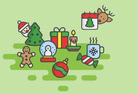 free-christmas-icon-set