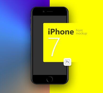 iphone-7-black-front-psd-mockup