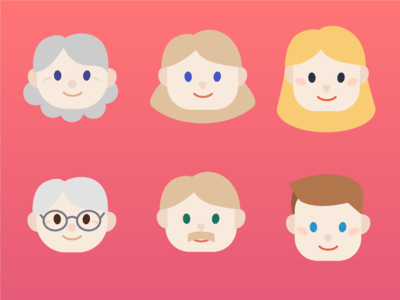 3 Generations Illustration - Free Download