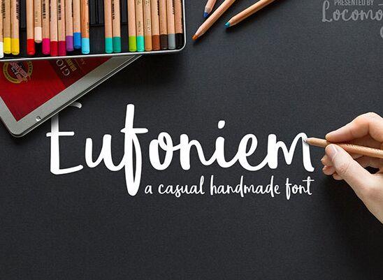 Eufoniem Free Font