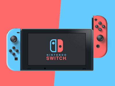 Nintendo Switch - Vectorial concept design