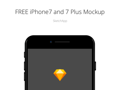 FREE iPhone 7 and 7 plus Mockup