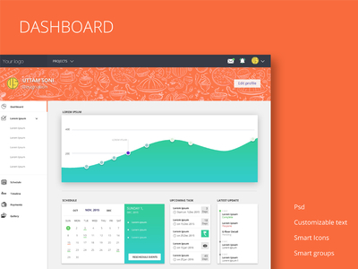 Free Dashboard design