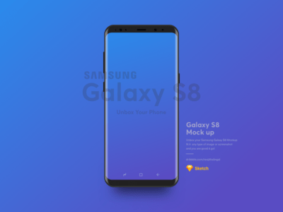 20 Amazing Samsung Galaxy S8 / Note 8 Mockups For Free