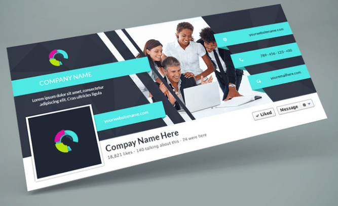 Facebook Cover PSD Design Template