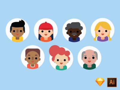 avatars freebie