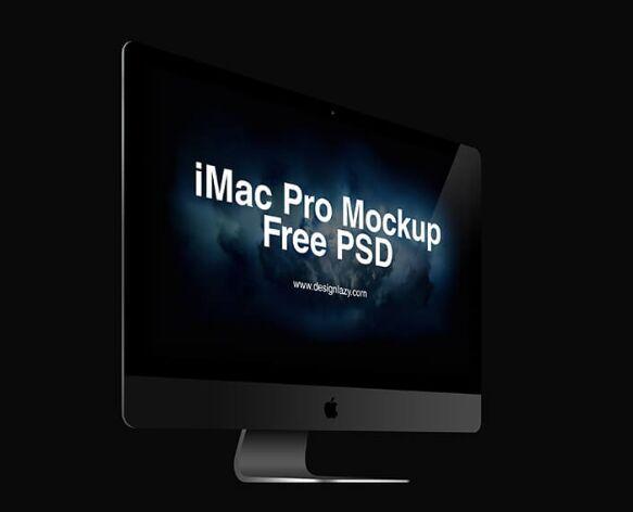 iMac Pro Mockup PSD Vol. 2