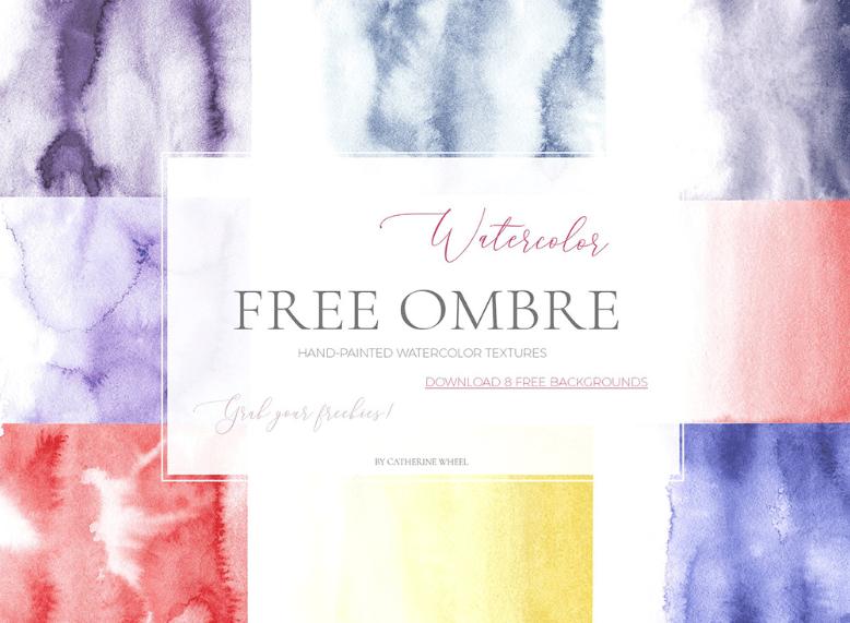 Watercolor Ombre Texture-min