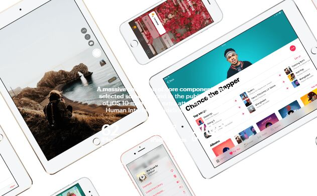 iOS 10 GUI iPhone & iPad