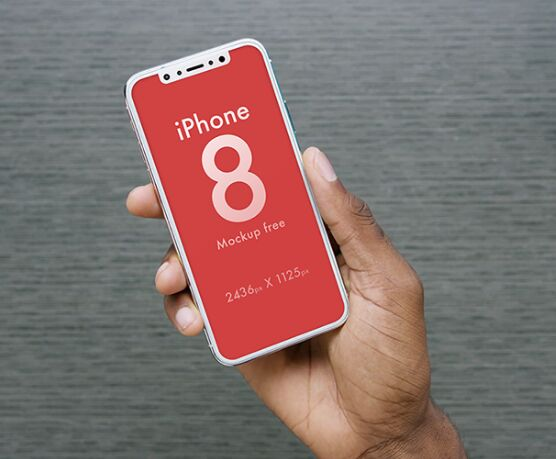 Free iPhone 8 Mockup to Download