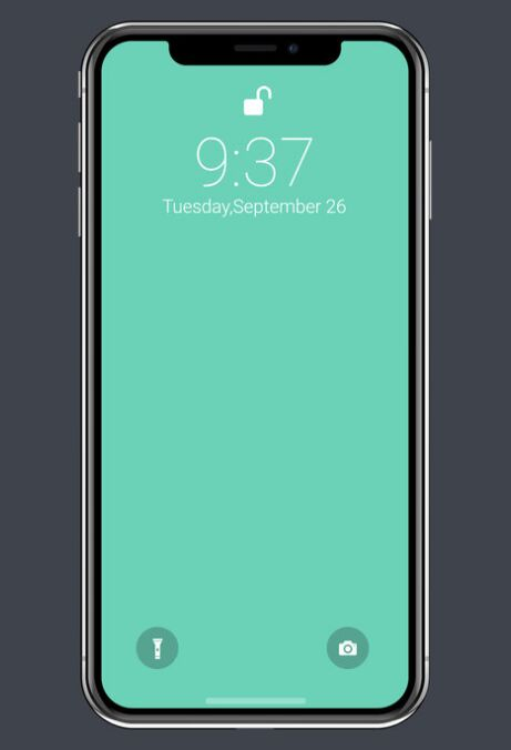 Vector iPhone X Mockup