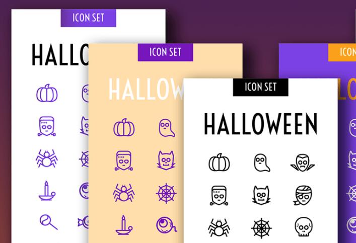 Haunted Icon Set