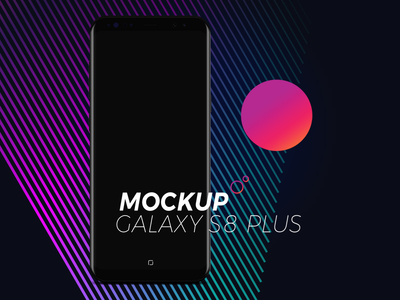 MockUP Galaxy s8