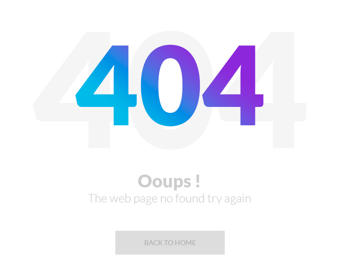 15 Creative Free 404 Not Found Page Templates For Inspiration