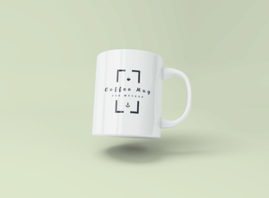 Coffee Mug PSD Mockup