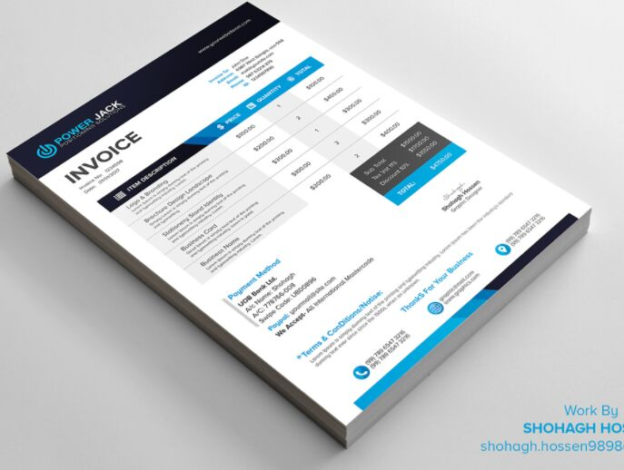 2 Invoice Design